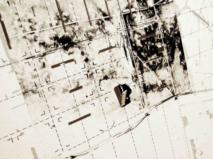 The Salt Cities : Drawing the Cities for Unsure ground Exhibition (2013)